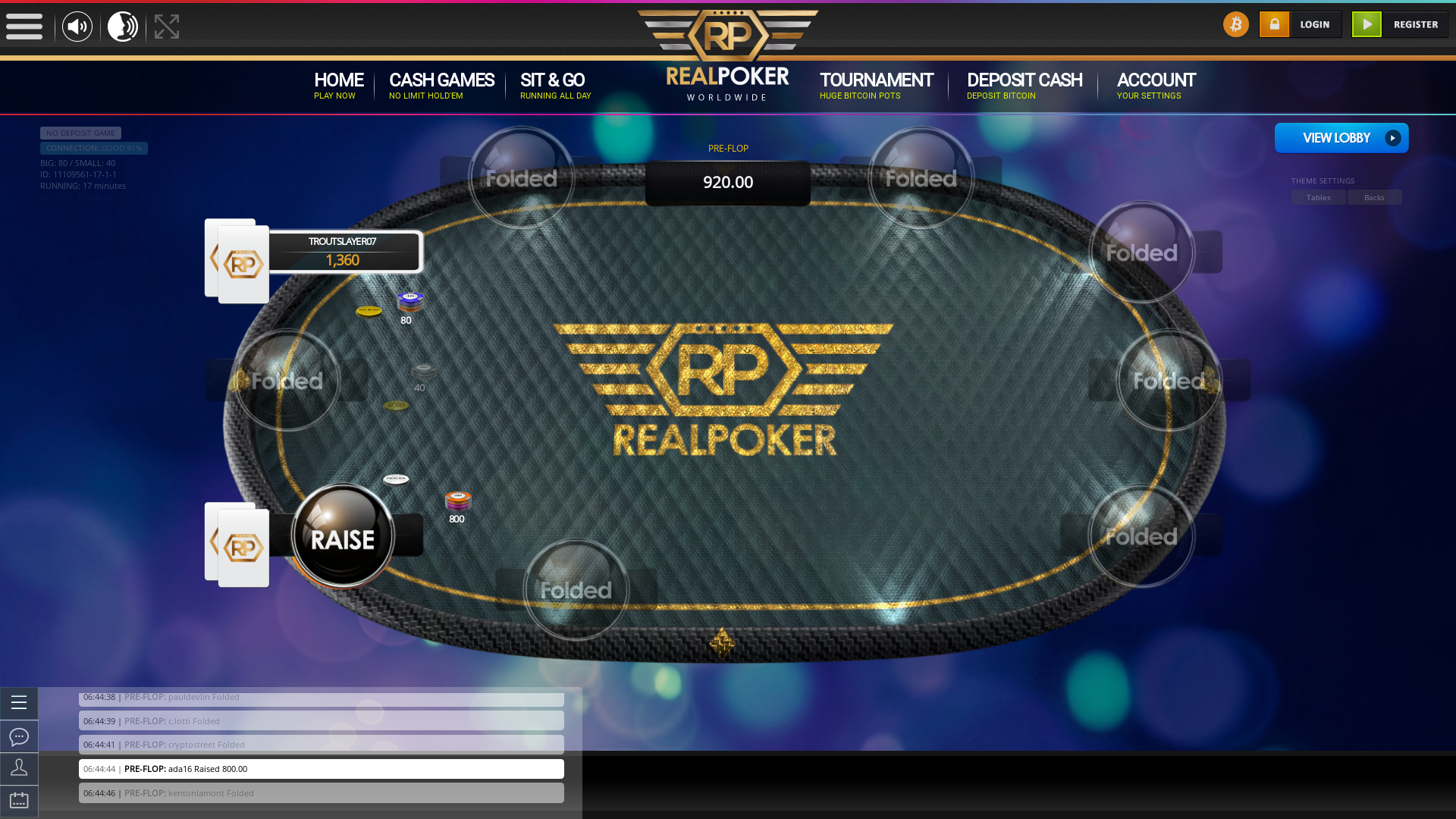 Maracaibo Cryptocurrency Poker