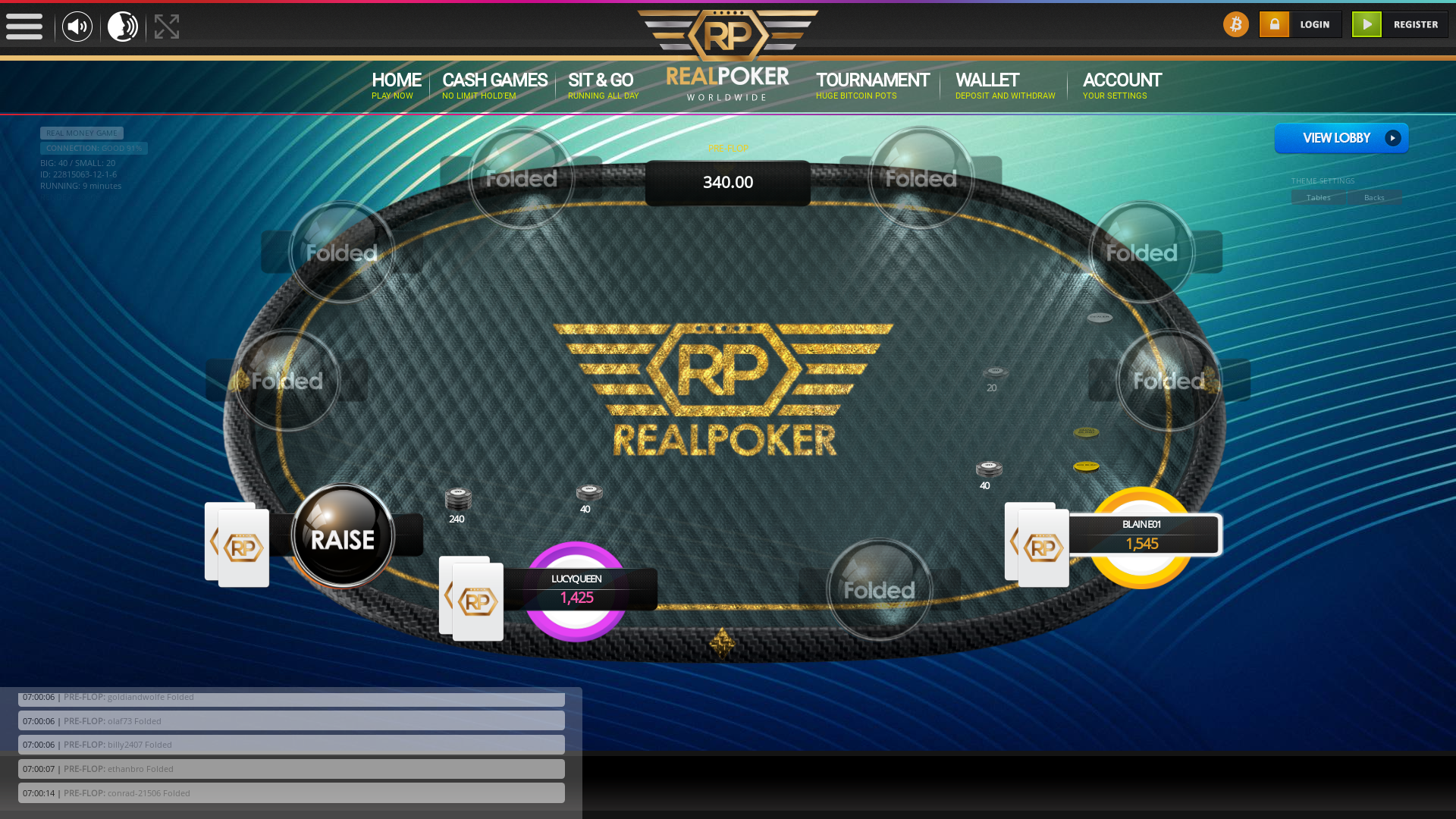 France Cryptocurrency Poker from August