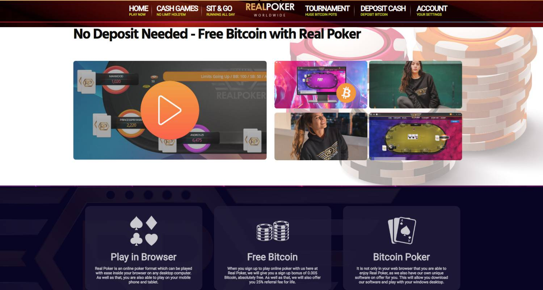 Free Bitcoin Poker Money | Real Poker