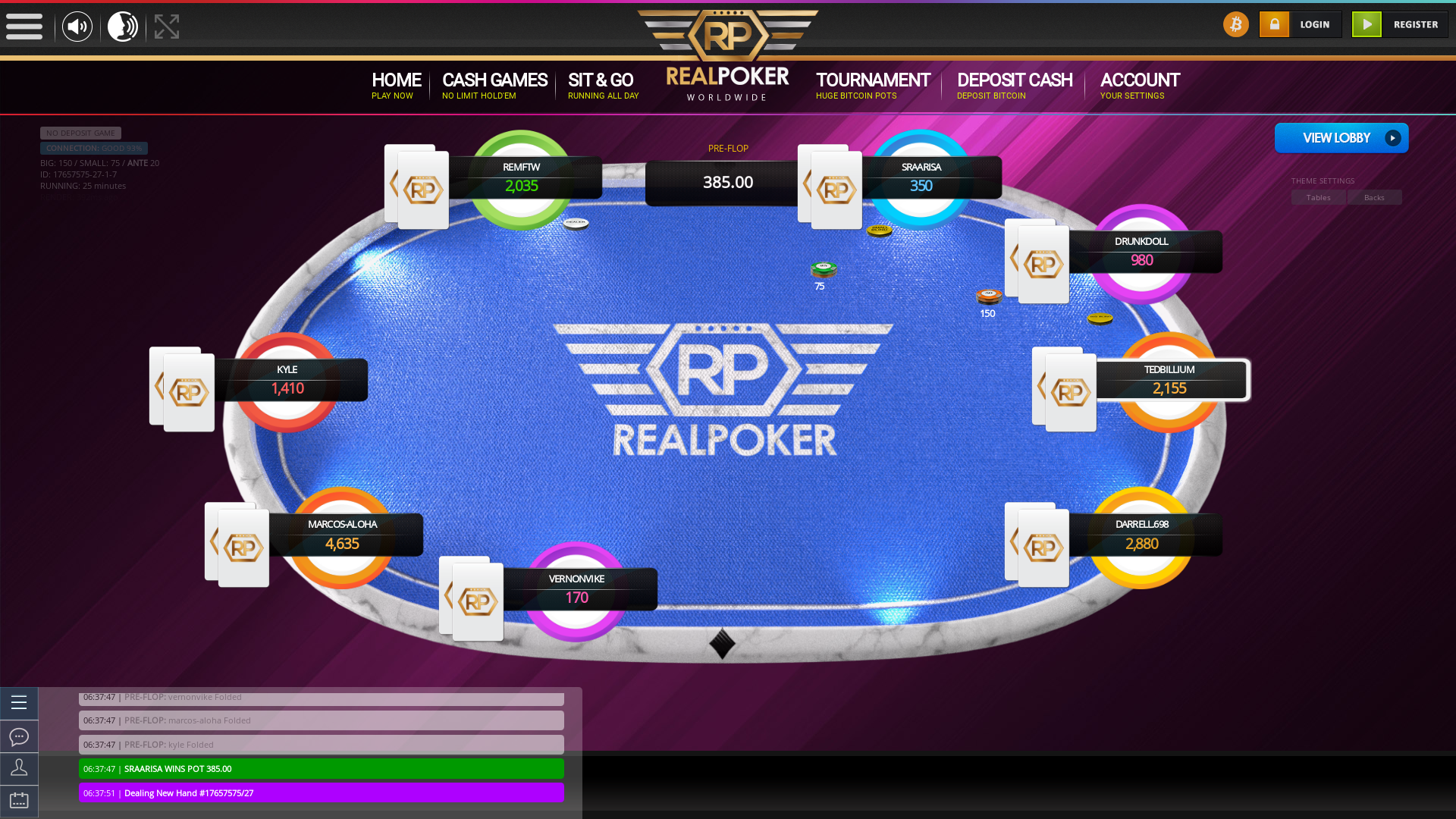 Albania texas holdem poker table on a 10 player table in the 25th minute