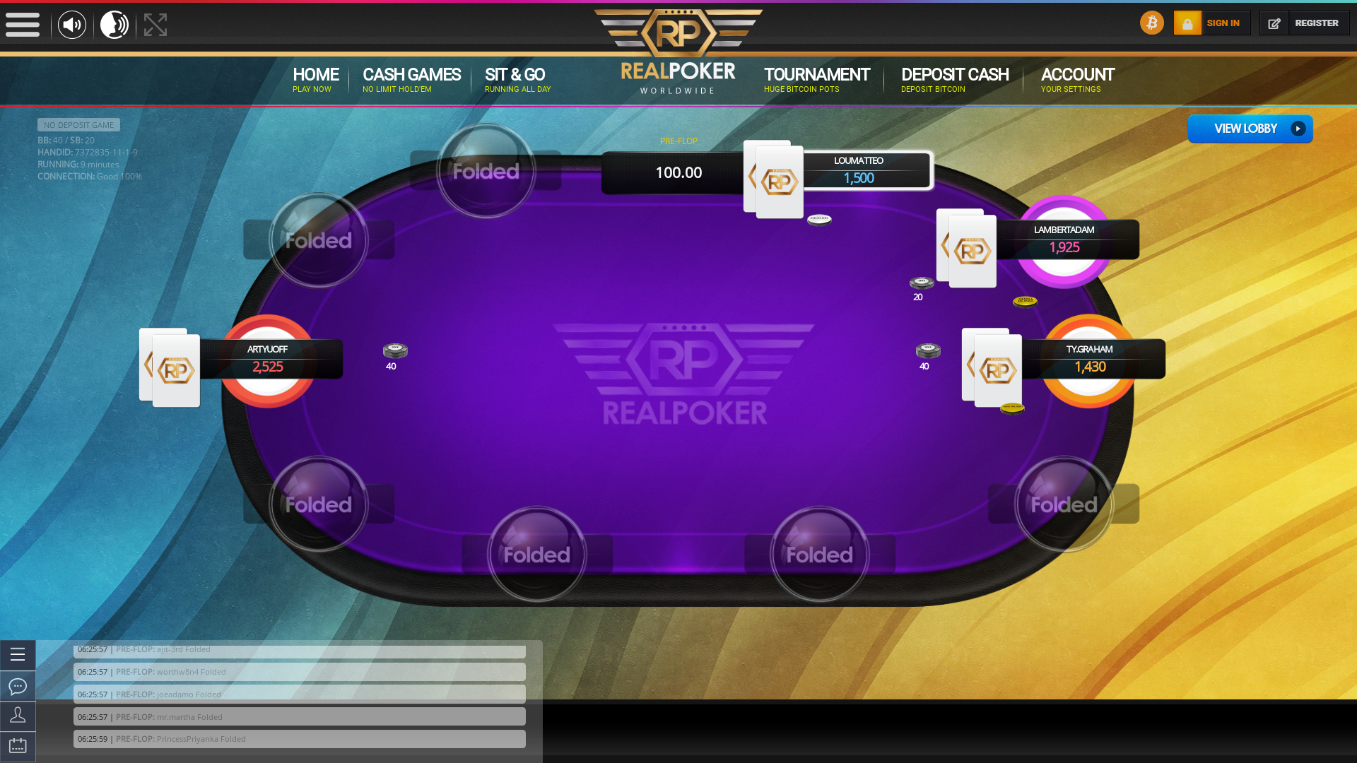 Macau Casino Bitcoin Poker from 5th April