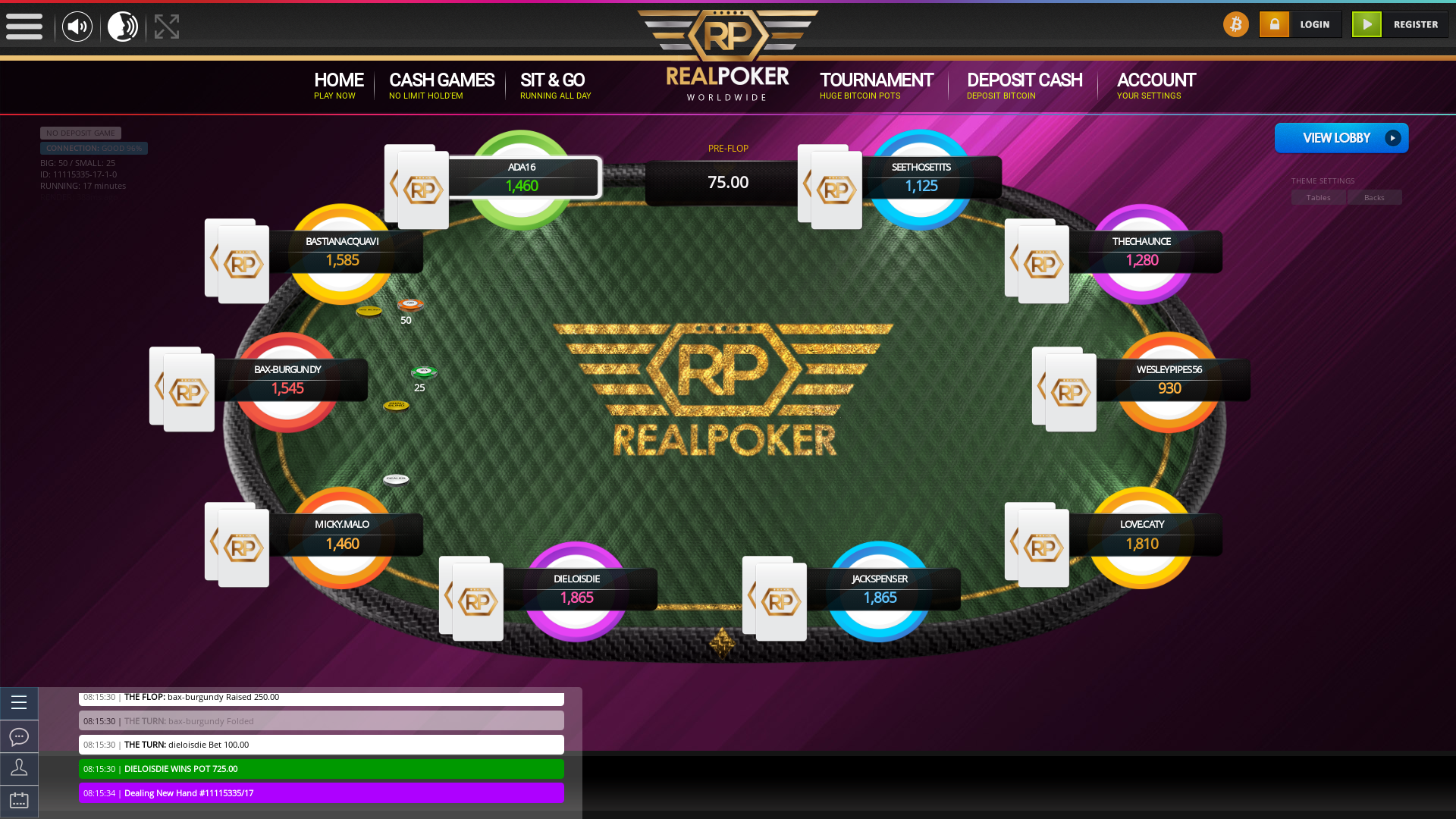 Romania BTC Poker from May
