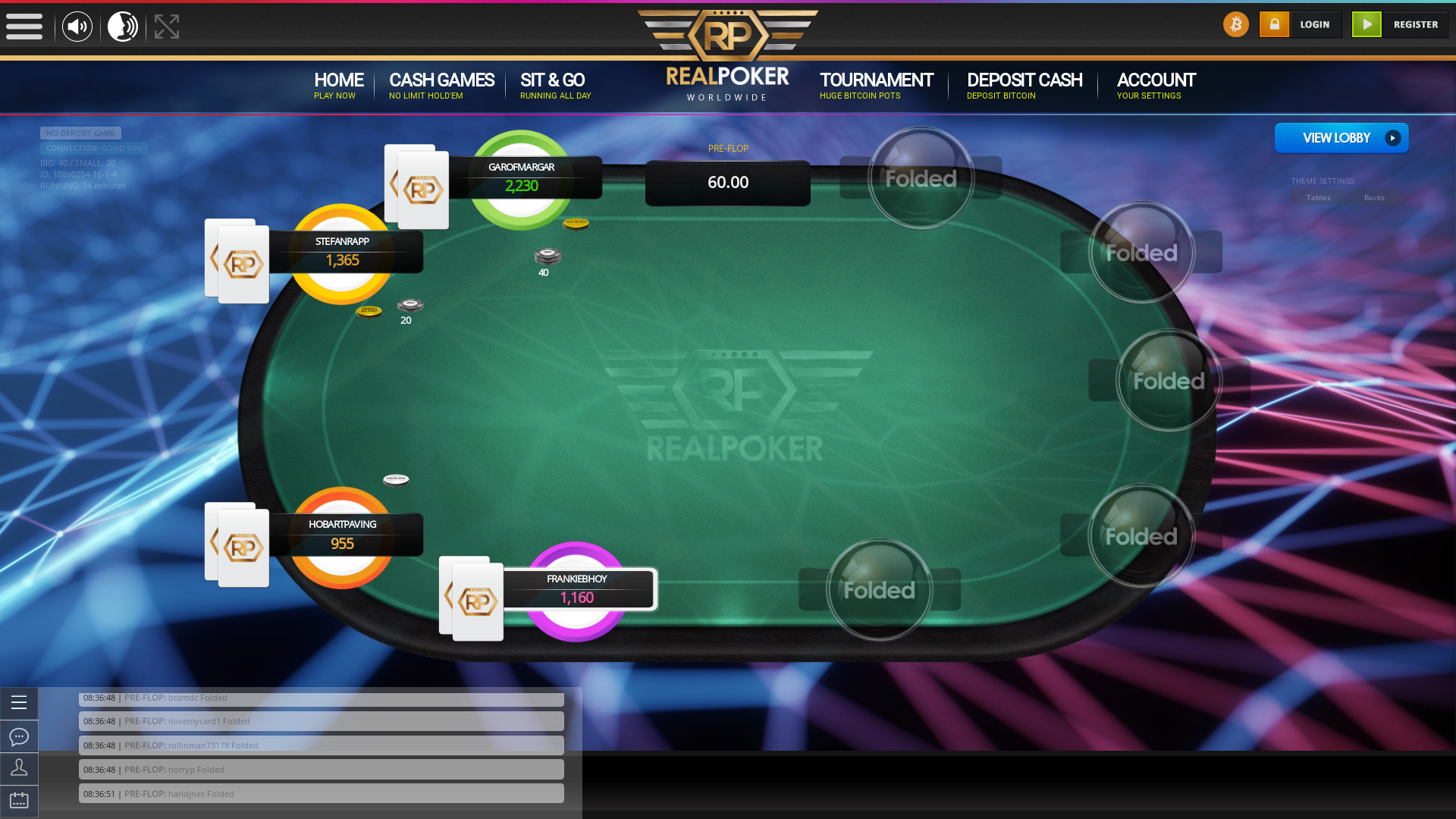 Salvador Casino Bitcoin Poker from May