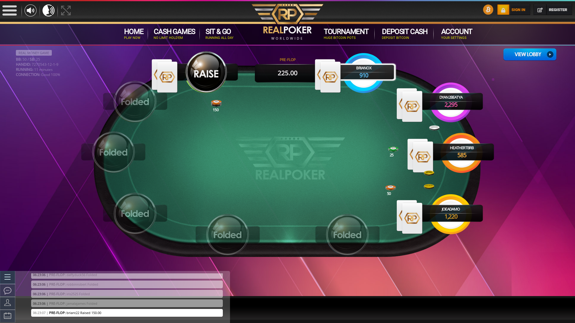 Bulgaria Crypto Poker 10 Player