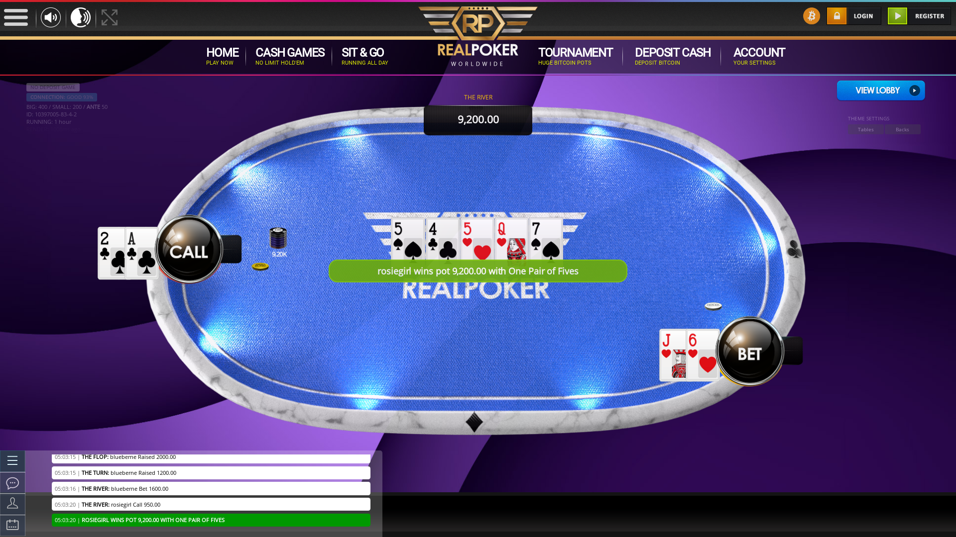Canada texas holdem poker table on a 10 player table in the 6 game