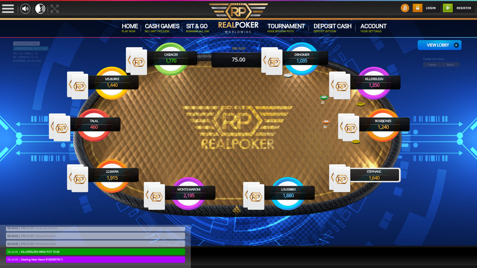Makassar BTC Poker from July
