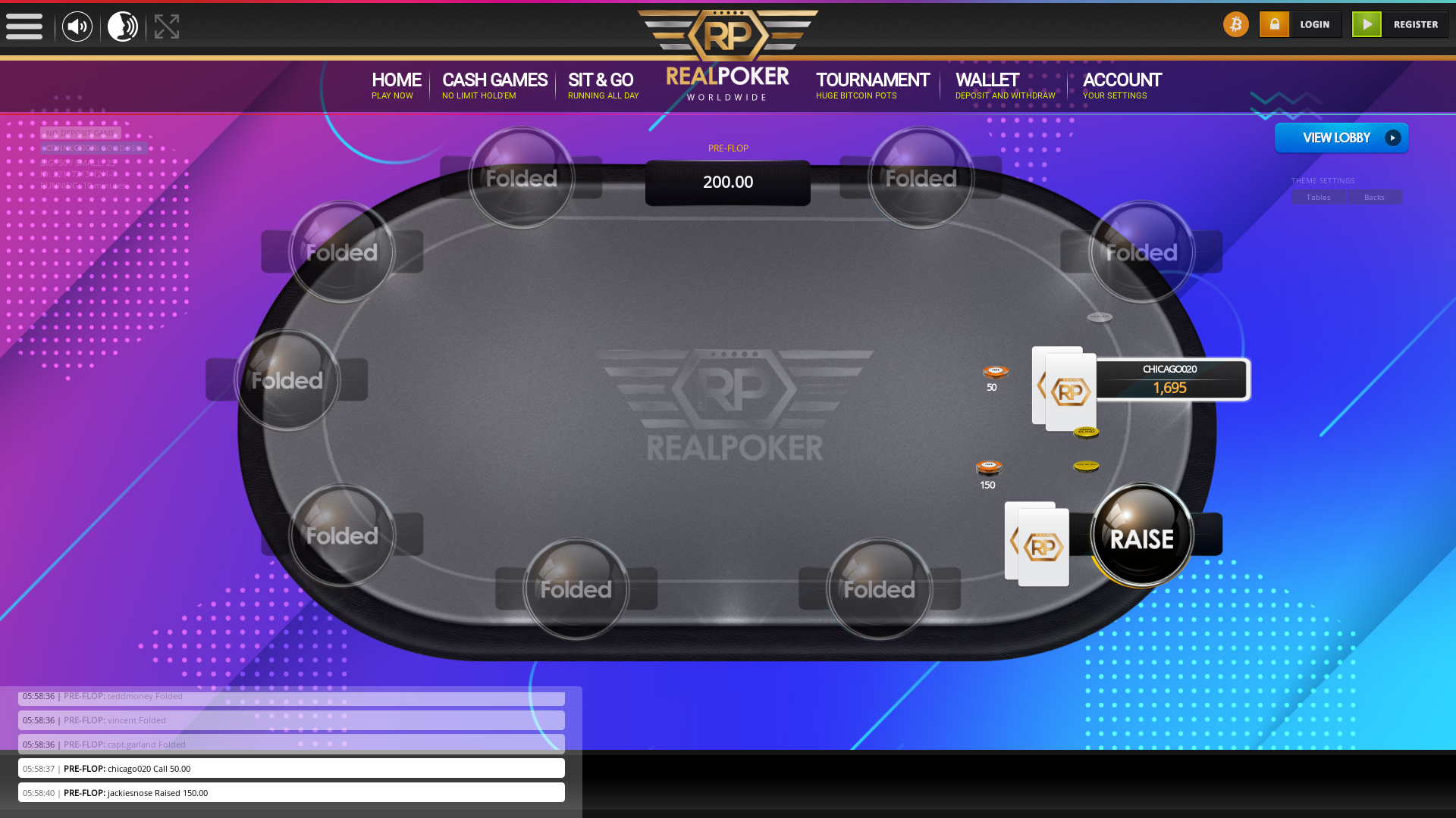 Casino Bitcoin Poker from 20th August