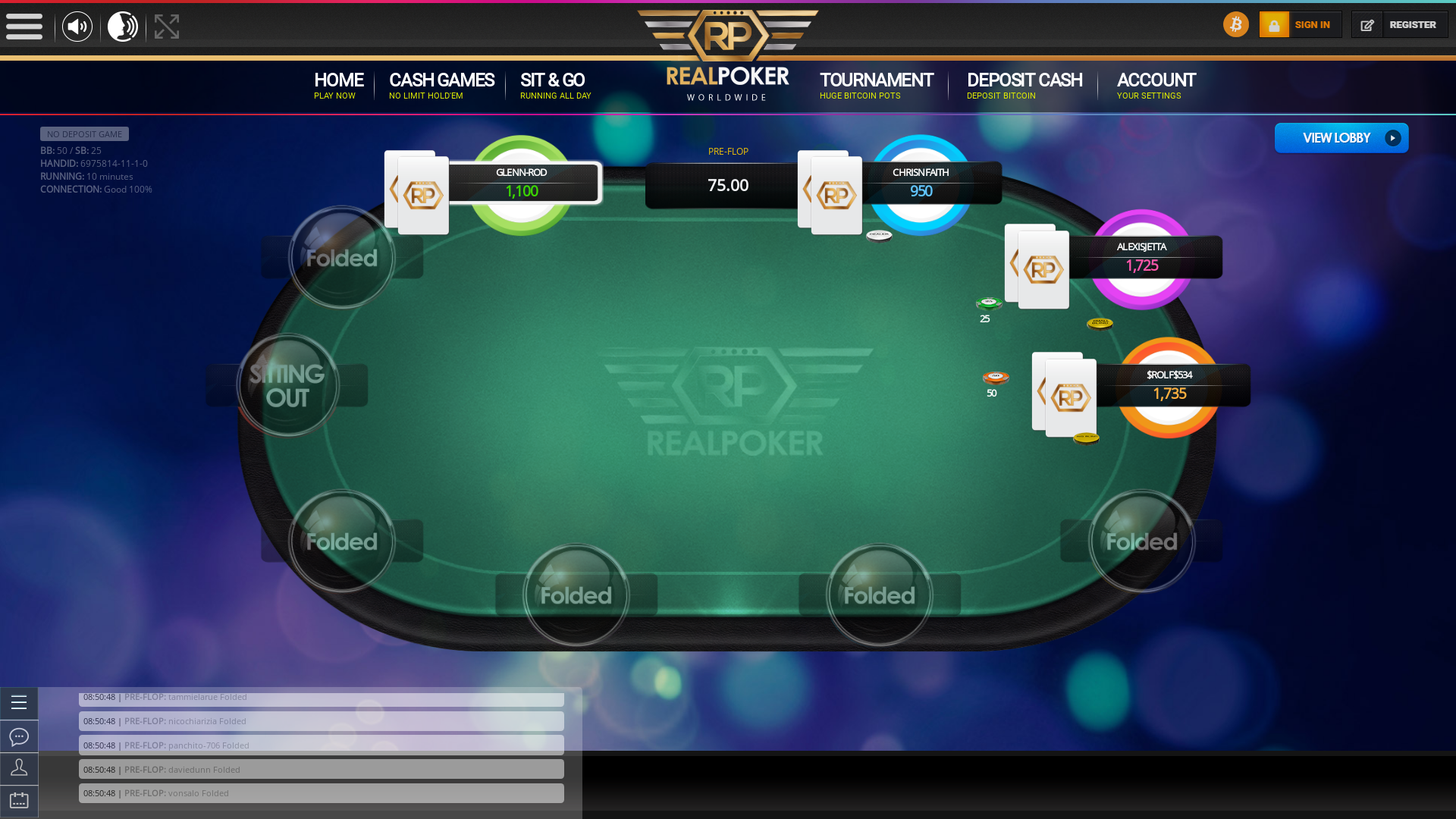 Czechia BTC Poker 10 Player
