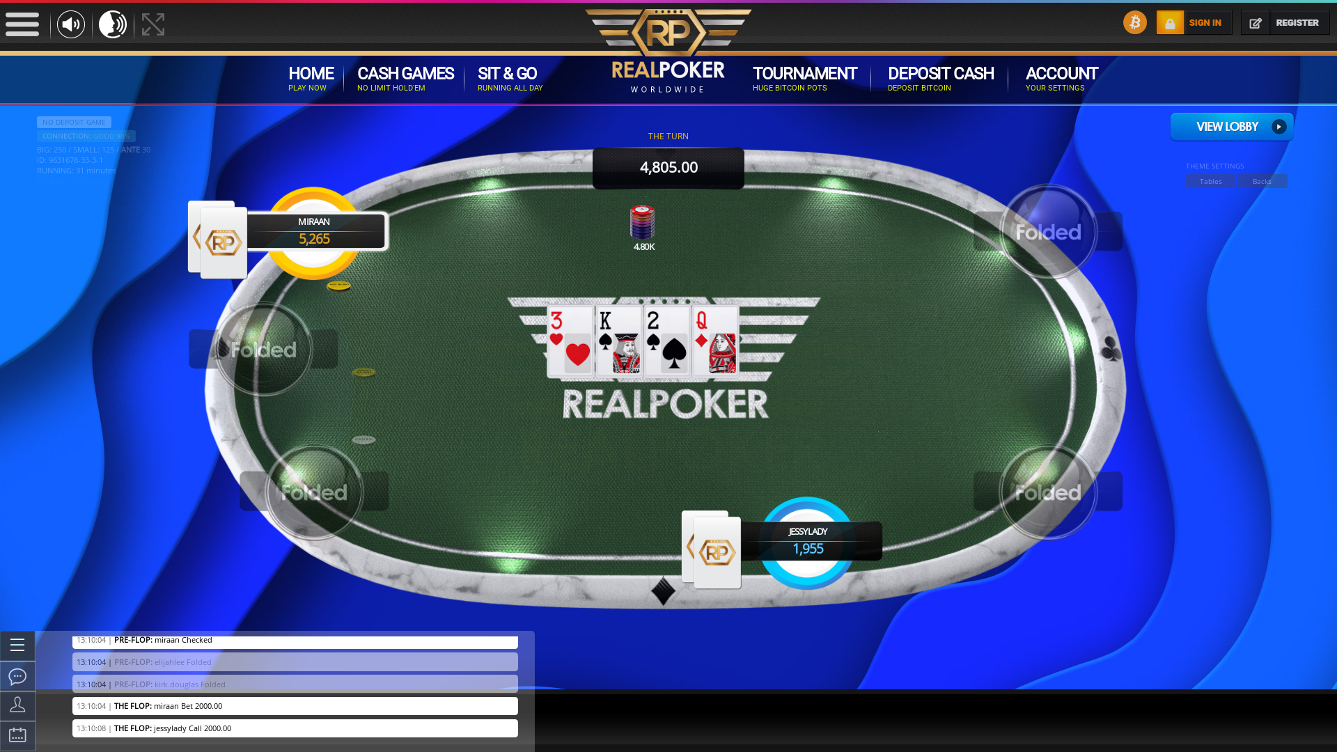 Poker rounds name