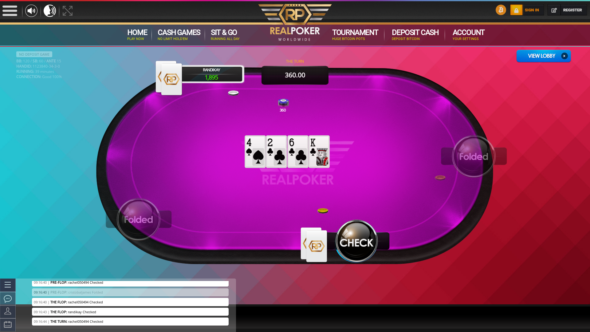 Malta 10 player poker in the 39th minute