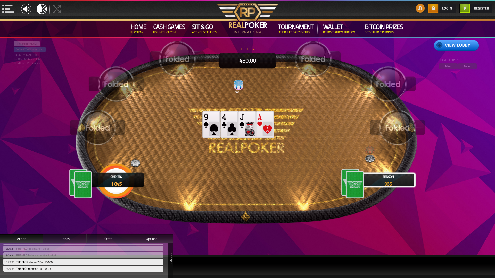 online poker on a 10 player table in the 14th minute match up