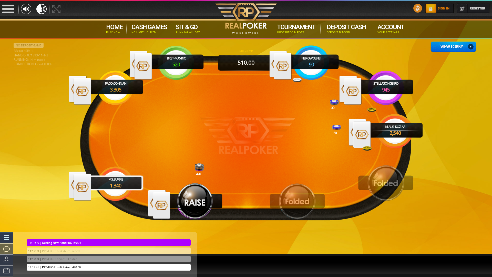Valencia Cryptocurrency Poker 10 Player