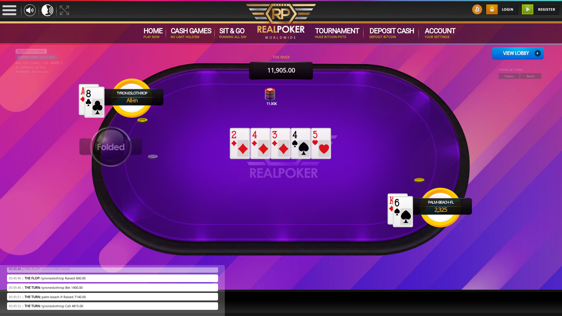online poker on a 10 player table in the 29th minute match up
