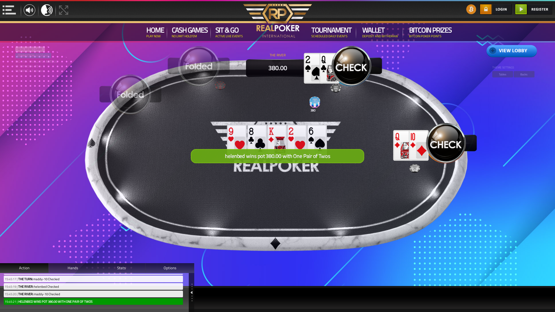 online poker on a 10 player table in the 43rd minute match up