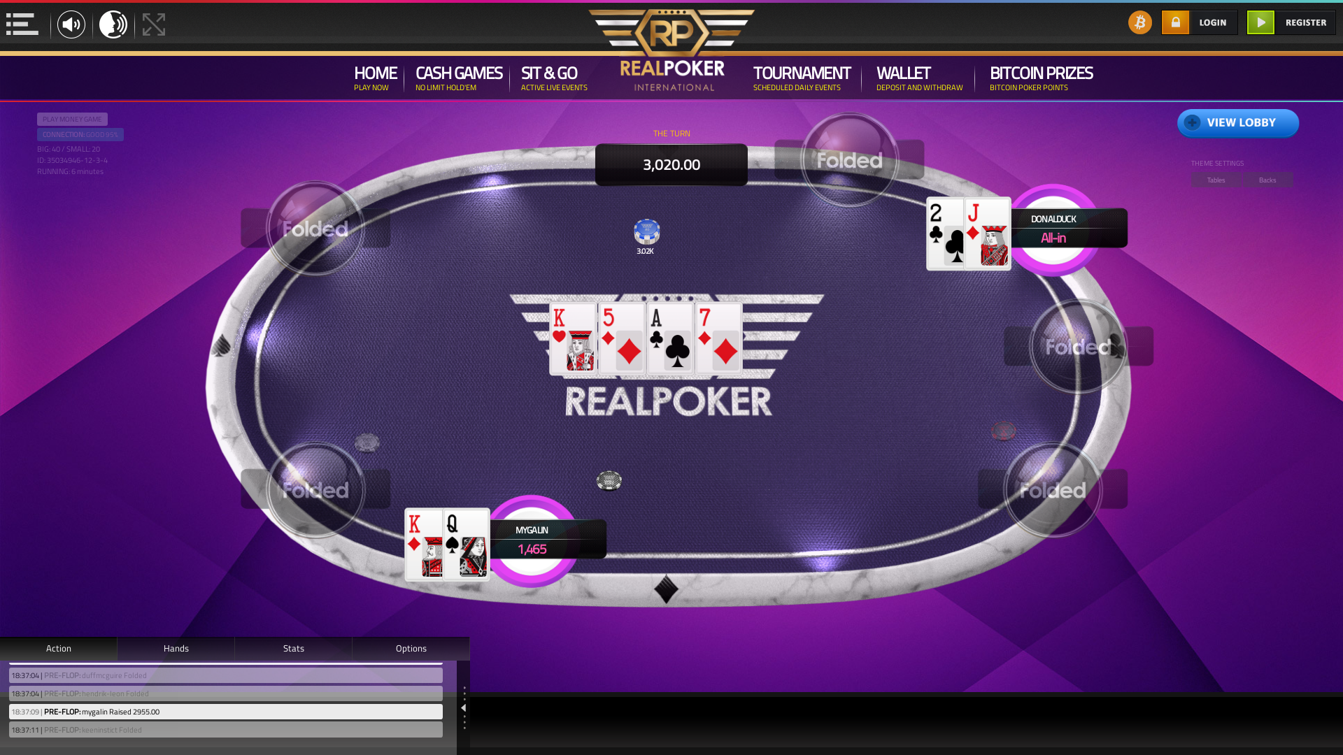 Global Crypto Poker 10 Player