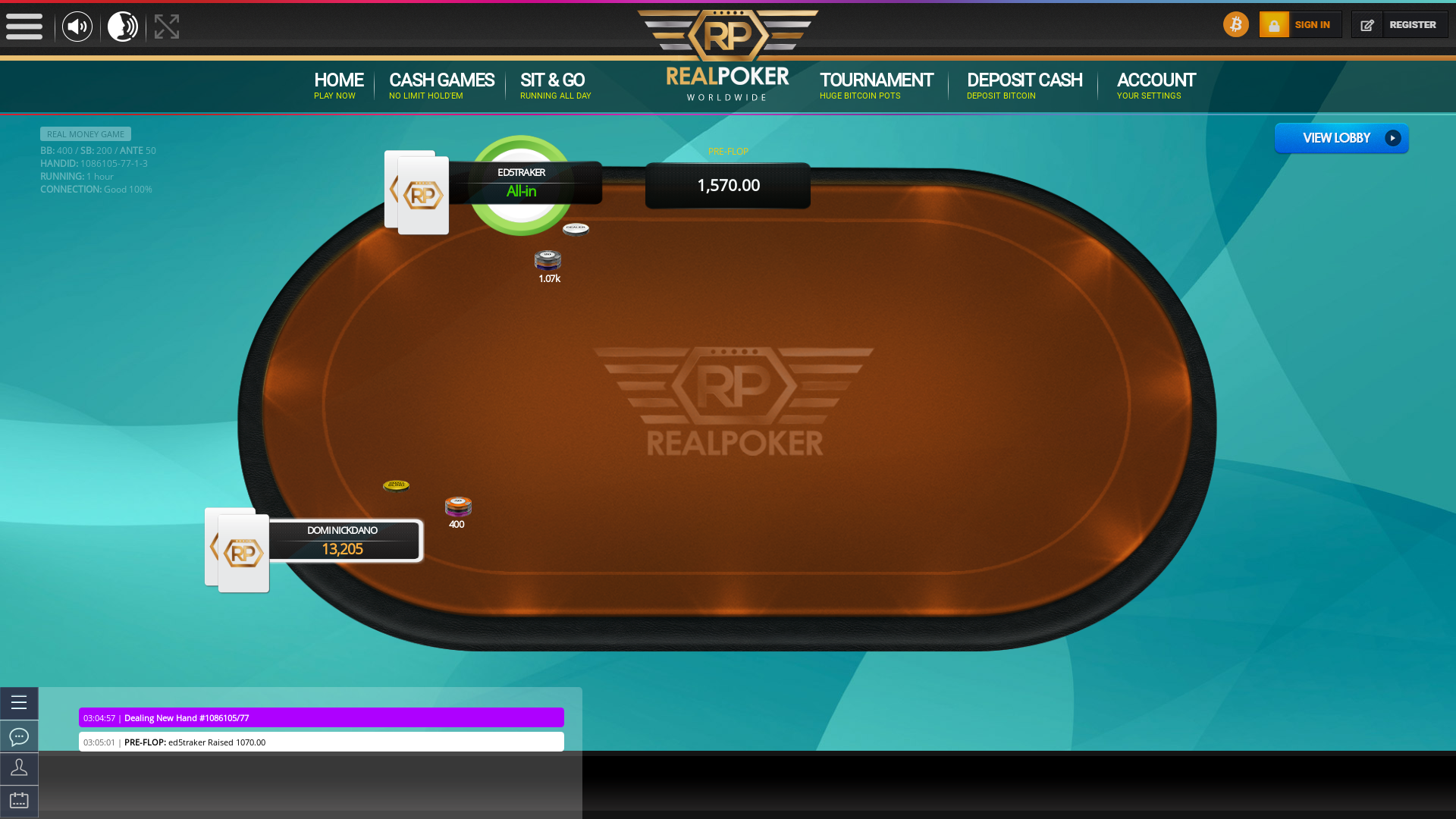 Real poker 10 player table in the 62nd minute