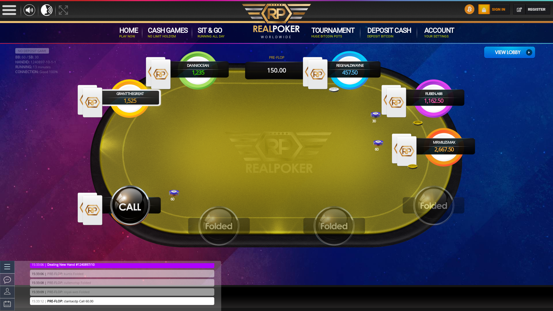 Caracas Crypto Poker 10 Player