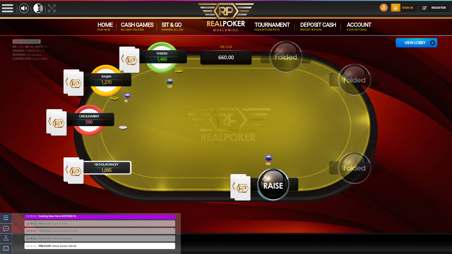 Colombia BTC Poker 10 Player