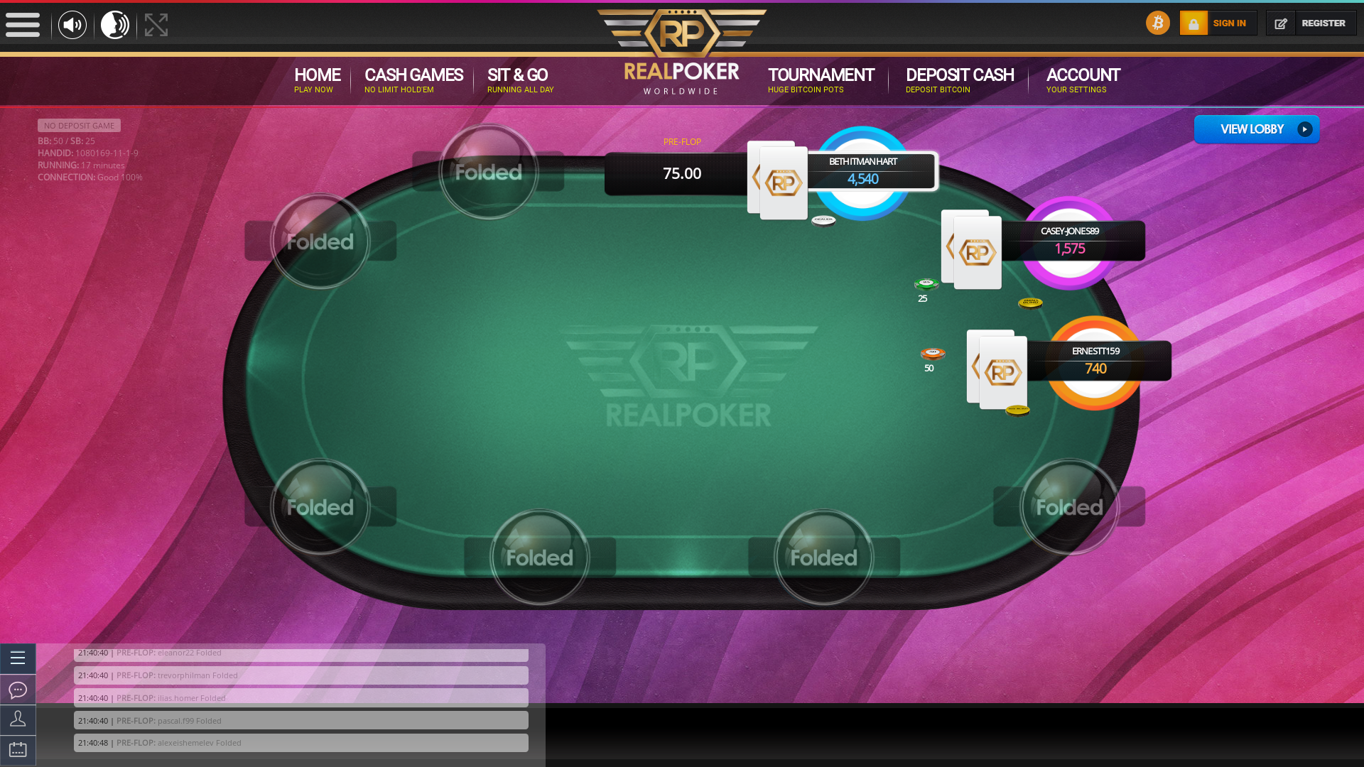 Colombia Crypto Poker 10 Player