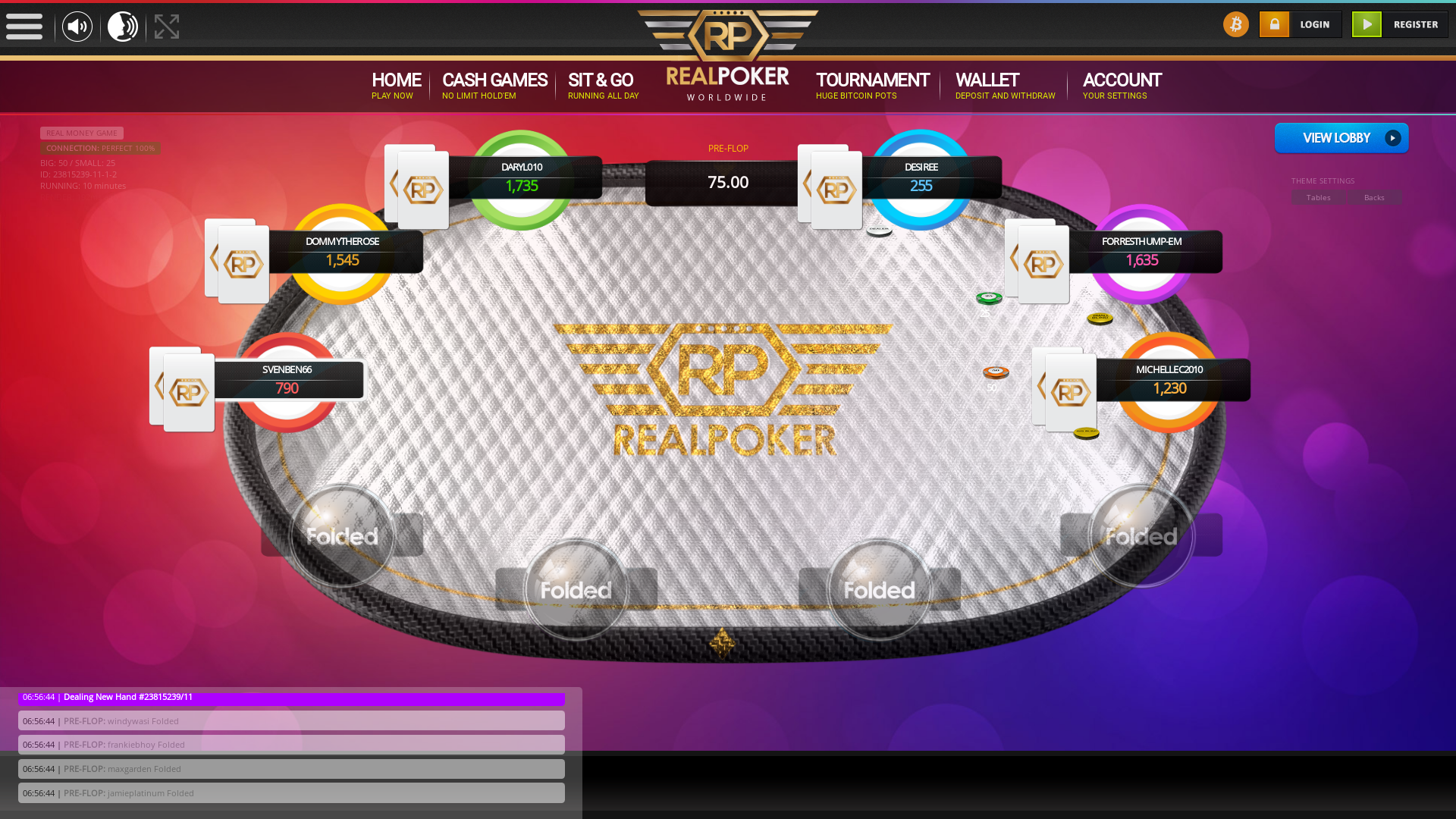 New Zealand BTC Poker 10 Player