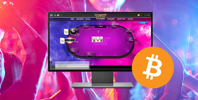 Bitcoin Real Poker